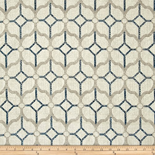 Magnolia Home Fashions Rockaway Navy Fabric by The Yard (Fabrics Magnolia Home)