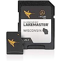 $95 » Humminbird 600025-7 LakeMaster Wisconsin V8 Digital GPS Maps Micro Card