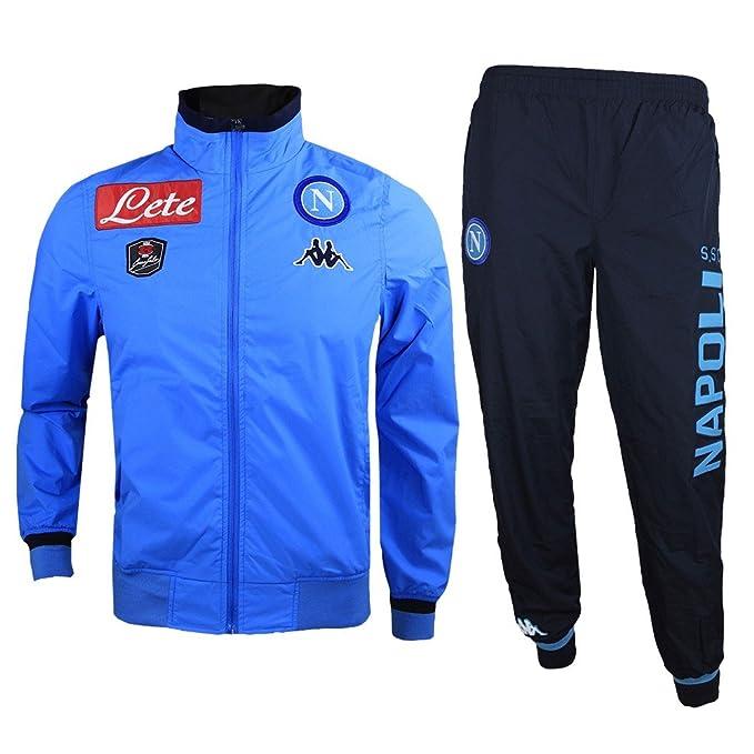 Kappa Chándal Napoli SSC 1083 - Equipo De Fútbol CÓDIGO  302HTU0-903  Cavliglie en costilla suave 0e4e5cfdb43c5