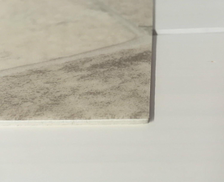 Made in Germany CV PVC-Belag verf/ügbar in der Breite 300 cm /& L/änge 450 cm PVC Vinyl-Bodenbelag in Bruchstein hell Optik CV-Boden wird in ben/ötigter Gr/ö/ße als Meterware geliefert /& pflegeleicht