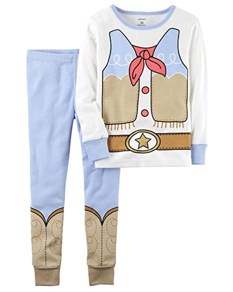 3c0a3607ced4 Amazon.com  Carters Toddler Girls 2-Piece Cowgirl Snug Fit Cotton ...