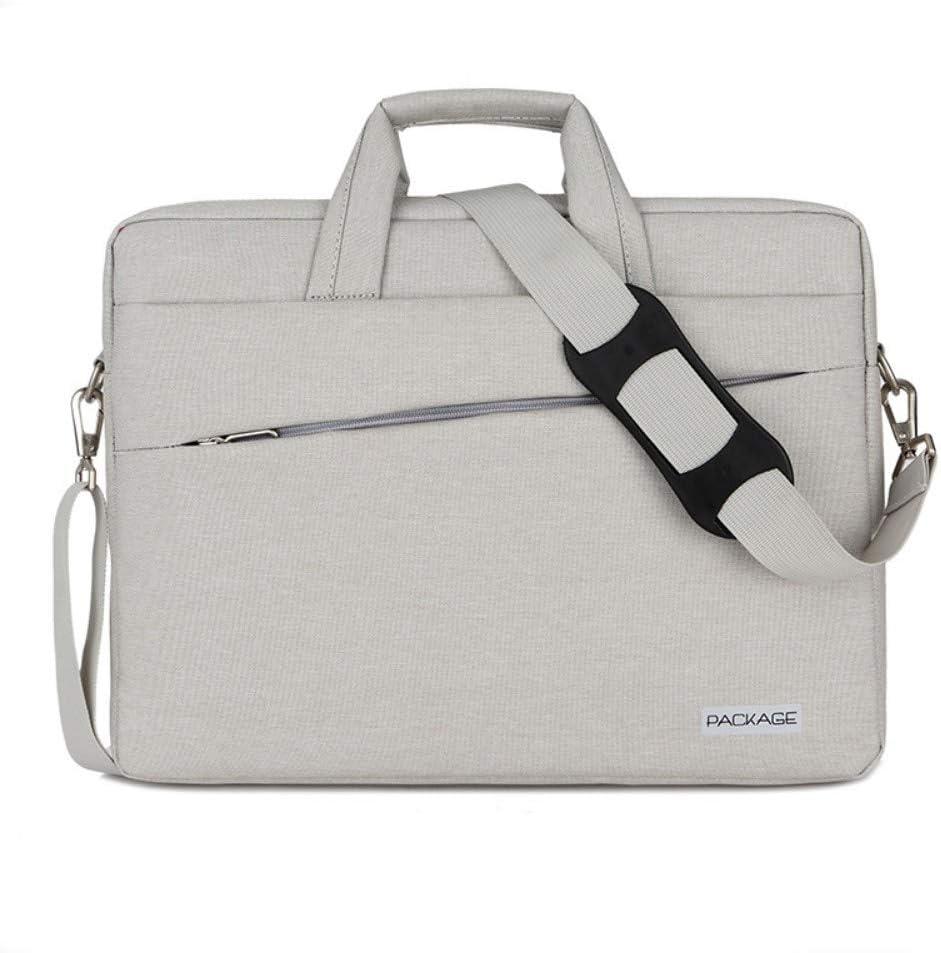Hand-Held Notebook Computer Bag Light Briefcase Business Large Capacity Handbag Ultra-Thin Computer Bag,C
