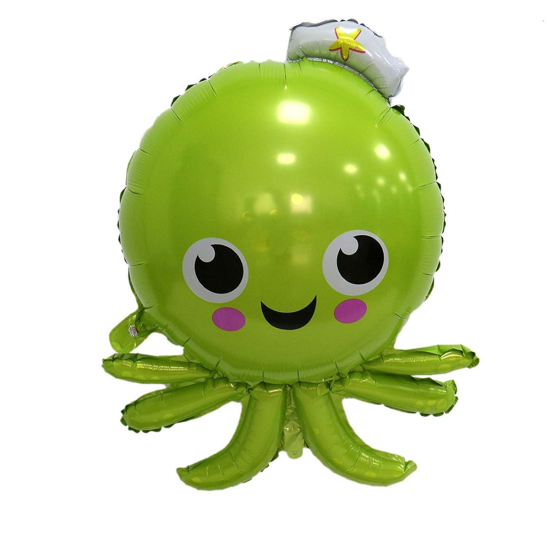 AQUEENLY Sea Animal Balloons 37 Inches Shark Balloon//Sea Horse Balloon//Octopus Balloon//Tropical Fish Balloons for Kid Birthday Party Decorations