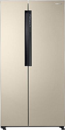 Samsung 674 L Frost Free Side-by-Side Refrigerator(RS62K6007FG/TL, Stary Gold, Inverter Compressor)