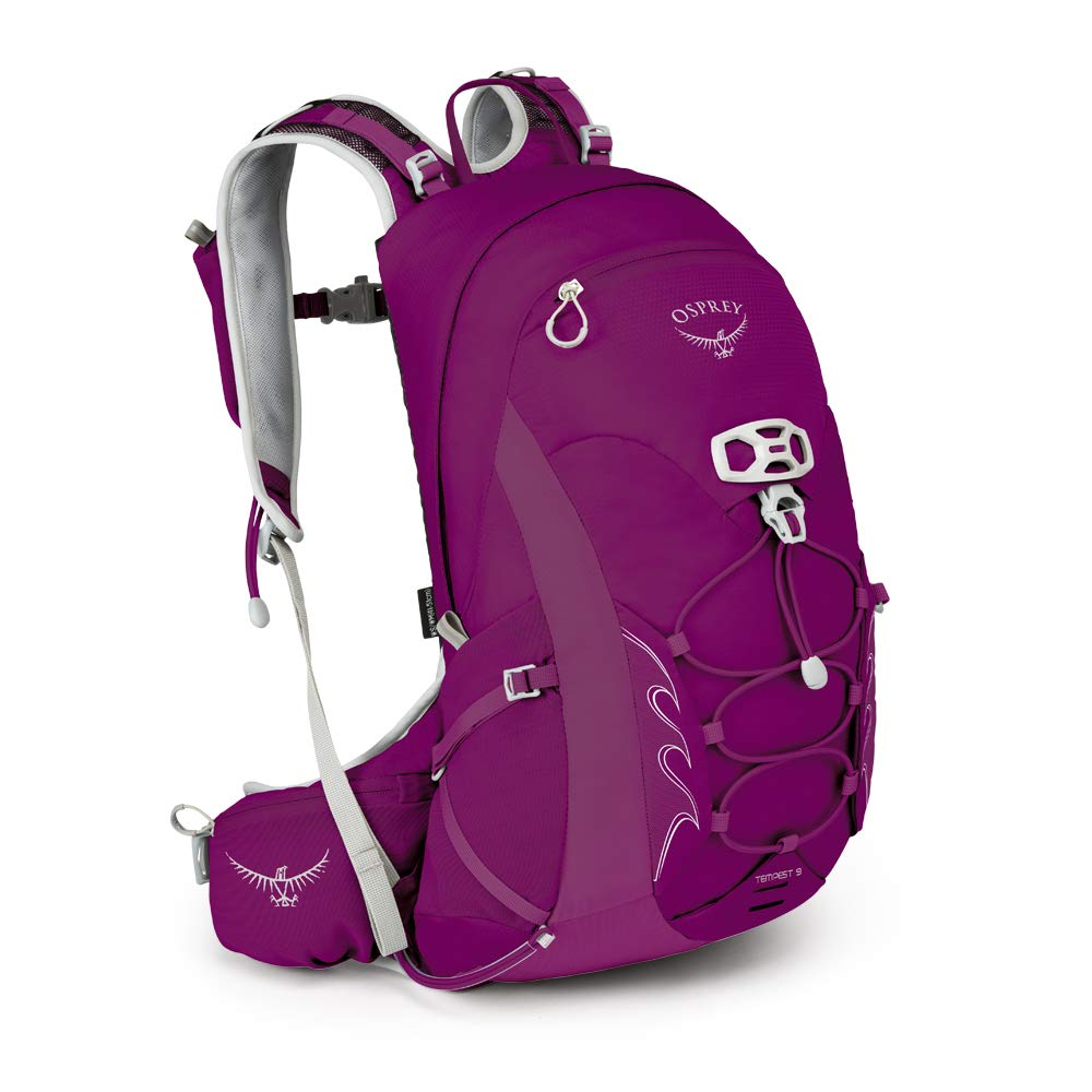 Hiking Pack Tempest 9 Osprey Women's Magentawswm Mystic HED2I9
