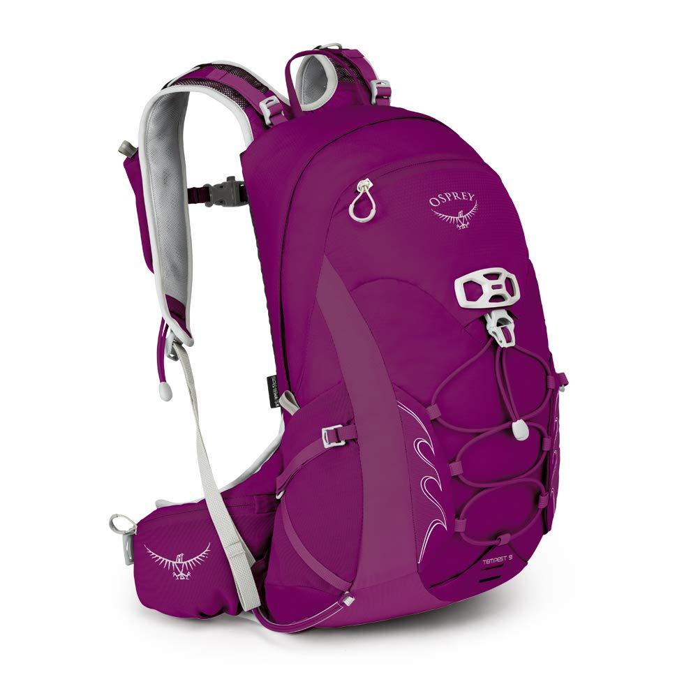 Osprey Packs Tempest 9 Women's Hiking Backpack, Mystic Magenta, Ws/M, Small/Medium