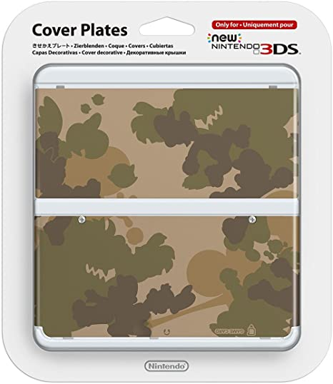 Nintendo - Cubierta Camuflaje (New Nintendo 3Ds): Amazon.es ...