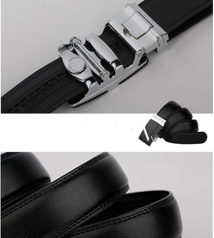 leather strap male automatic buckle belts for men authentic girdle trend mens belts ceinture Fashion designer women jean belt,X,115cm
