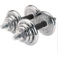 York Fitness  Adult EM-9221-20 Chrome Dumbbell Set - Silver, One Size