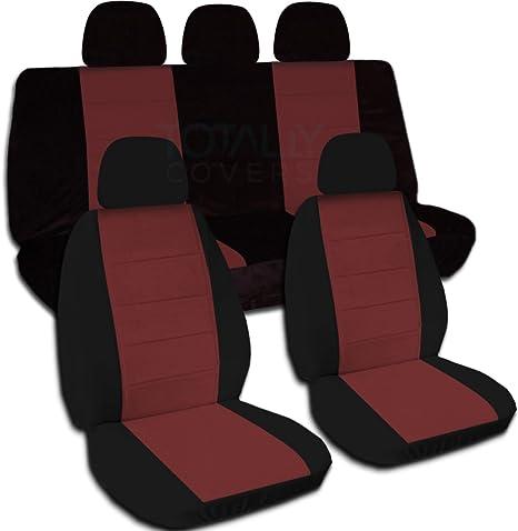 Amazon.com: Two-Tone Asiento de coche cubre W 5 (2 frontales ...
