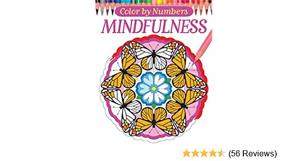 Color By Numbers Mindfulness Chartwell Coloring Books David