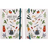 The Vegetable Patch A6 Notebook Lined Jotterpad