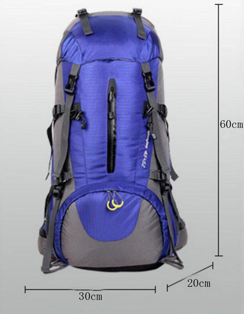 GKKXUE Männer Männer Männer und Frauen Camping Sporttasche Outdoor-Rucksack B45  5L Große Kapazität Wasserdicht Bergsteigen Tasche Rucksack (Farbe   Rot) B07F17RJ6B Wanderruckscke Für Ihre Wahl 332156
