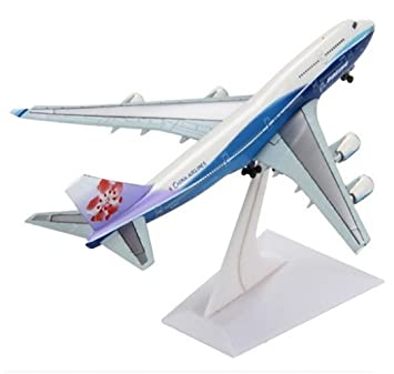 d99bea3175 Amazon | CHINA AIELINES ボーイング BOEING 747-400型機 合金 1/400 ...
