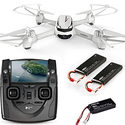 Hubsan H502S X4 FPV RC Quadcopter Drone with Two of Battery: Toys & Games