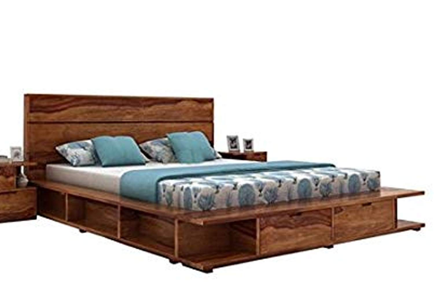 Phenomenal Aprodz Solid Wood Cincinnati Queen Size Bed With Storage For Download Free Architecture Designs Scobabritishbridgeorg