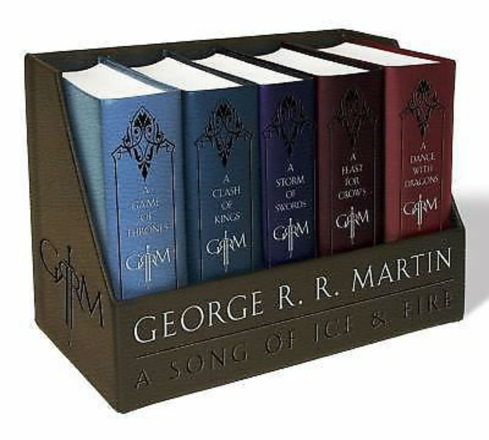 George R. R. Martin's a Game of Thrones Leather-Cloth Boxed Set (Song of Ice and Fire PDF