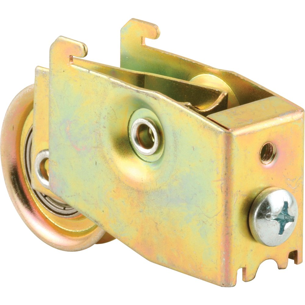 Prime Line Products D 1950 Sliding Door Roller Assembly with 1 1 2 Inch Steel Ball Bearing Gold Zinc 1 Pack
