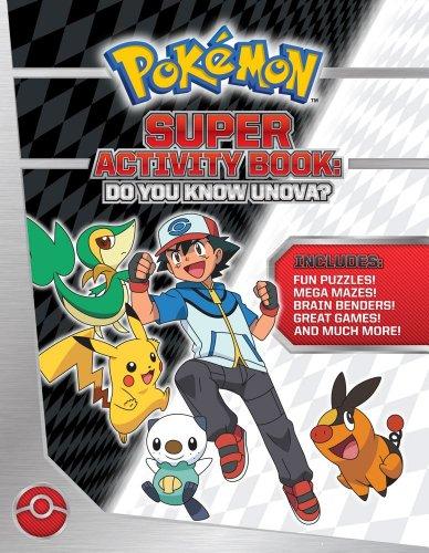 Pokémon Super Activity Book: Do You Know Unova? (Pokemon Pikachu Press) Photo