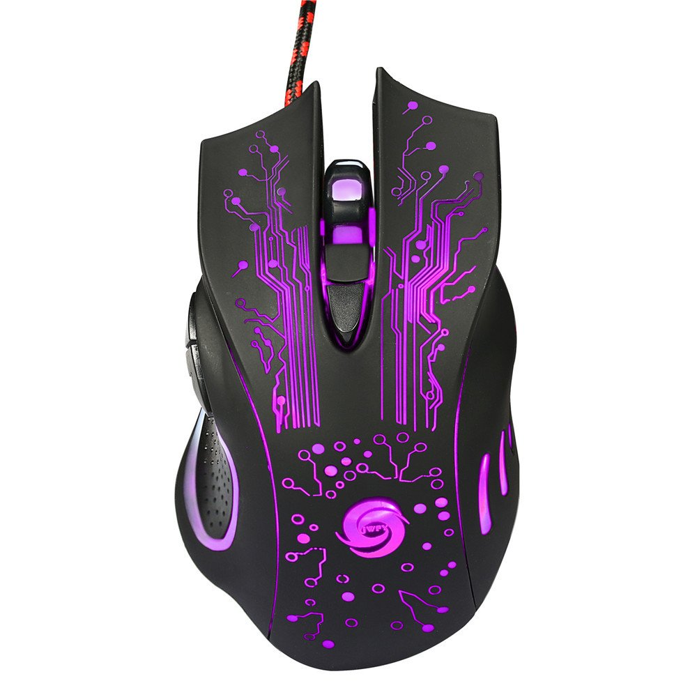 3200DPI LED Optical 6D USB Wired Gaming Mouse 6 Buttons Game Professional