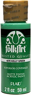 product image for FolkArt Acrylic Paint in Assorted Colors (2 oz), 407, Kelly Green