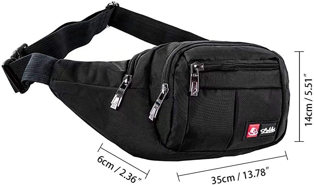 I Came To Get My Balls Wet Sport Waist Bag Fanny Pack Adjustable For Travel