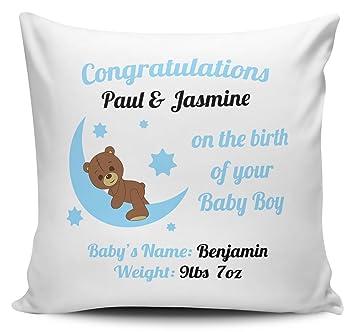 Amazon.com: carterisaac personalizado nacimiento de su bebé ...