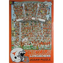 Texas Longhorns Jigsaw Puzzle by John Holladay (513 Pieces, 21 1/4 X 15 )