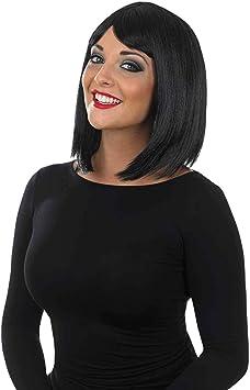 Fun Shack Womens Short Black Wig Adults Straight