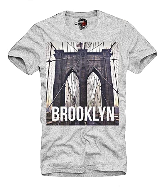 E1SYNDICATE T-SHIRT BROOKLYN NY TISA LAST KINGS DIAMOND CALI SUPPLY SUPREME  GRIS S-XL  Amazon.es  Ropa y accesorios 2d24f8e56ae