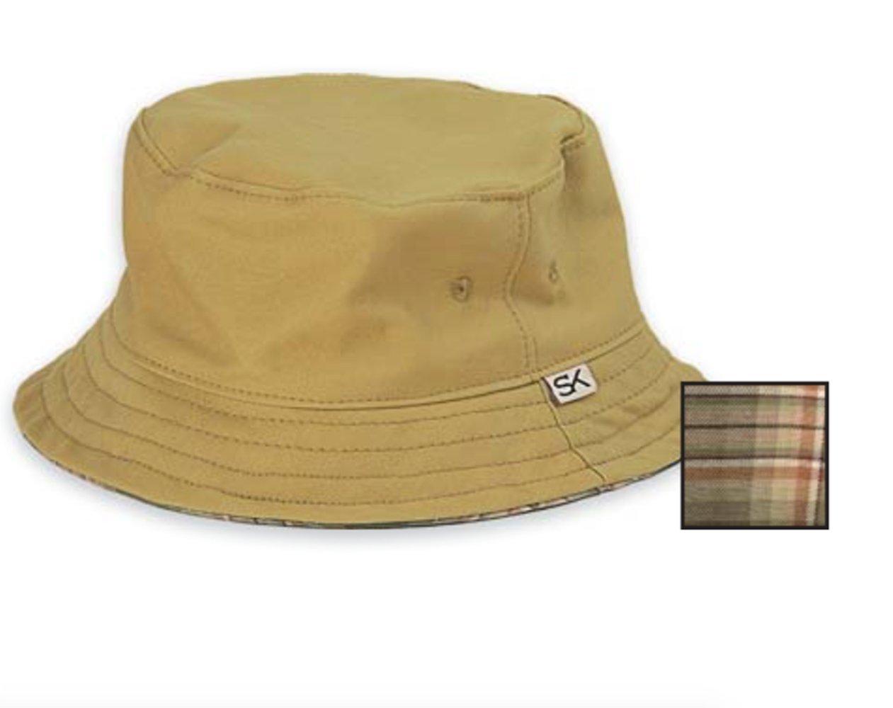 Stormy Kromer Unisex Bucket Hat, Khaki, L by Stormy Kromer (Image #1)