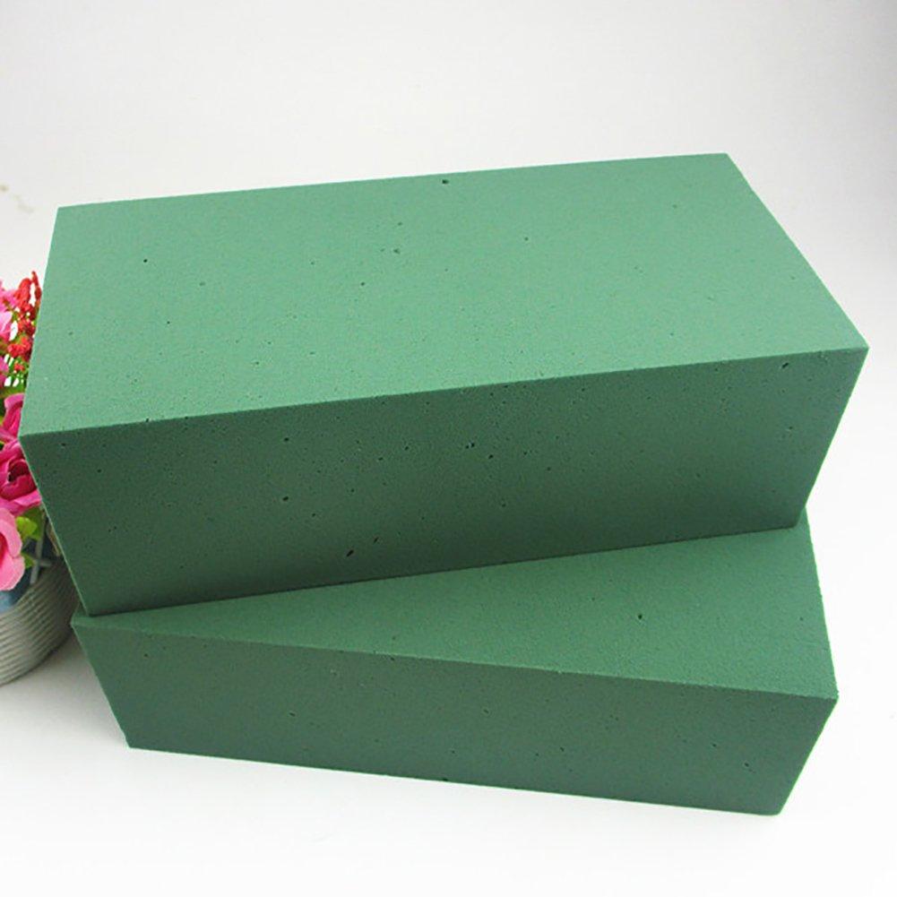 Flor de espuma de ladrillo DIY arreglo de flores flores tienda de flores de barro suministros barro de la flor de agua
