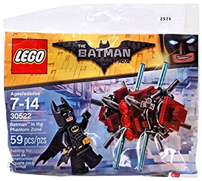 LEGO - The LEGO Batman Movie Theme - Batman in the Phantom Zone Polybag 30522 (2017) - 59pcs