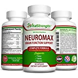 Mind and Memory Supplement - Natural Brain Function Booster Supplement For Focus, Mental Alertness & Clarity - Nootropic Stack Pills with St John's Wort, Ginkgo Biloba, L-Glutamine & More
