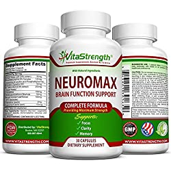 Mind & Memory Supplement - Natural Brain Function Booster Supplement For Focus, Mental Alertness & Clarity - Nootropic Stack Pills With St John's Wort, Ginkgo Biloba, L-glutamine & More