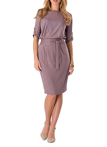Aimur Women's Professional Dress Knee Length Pencil Frock Comfortable Clothing