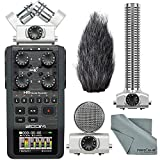 zoom h6 module - Zoom H6 Handy Portable Recorder and Zoom SGH-6 Shotgun Microphone Capsule Bundle