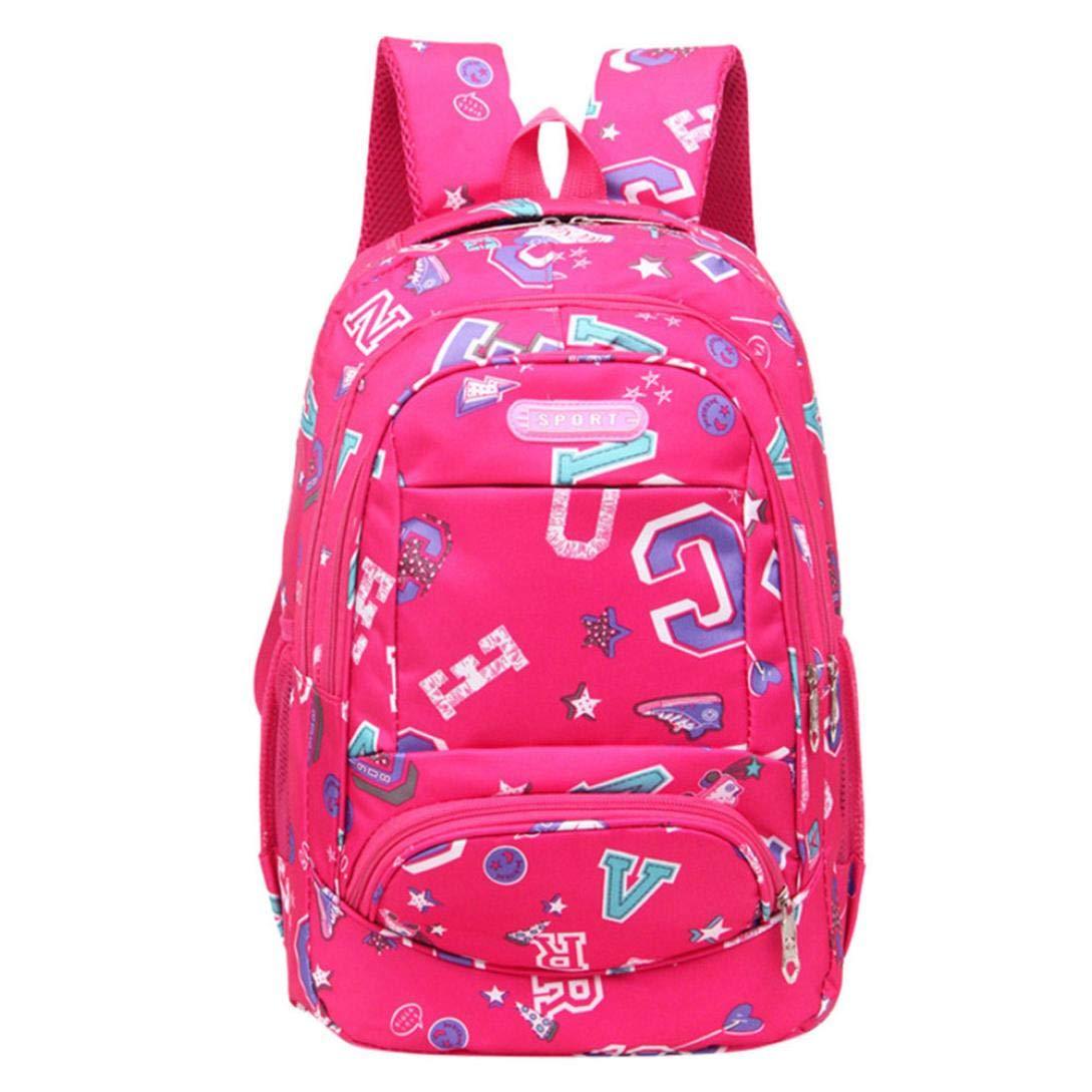 TOTOD Fashion Backpack Teenage Girls Boys School Backpack Letter Printing Female Students Bags