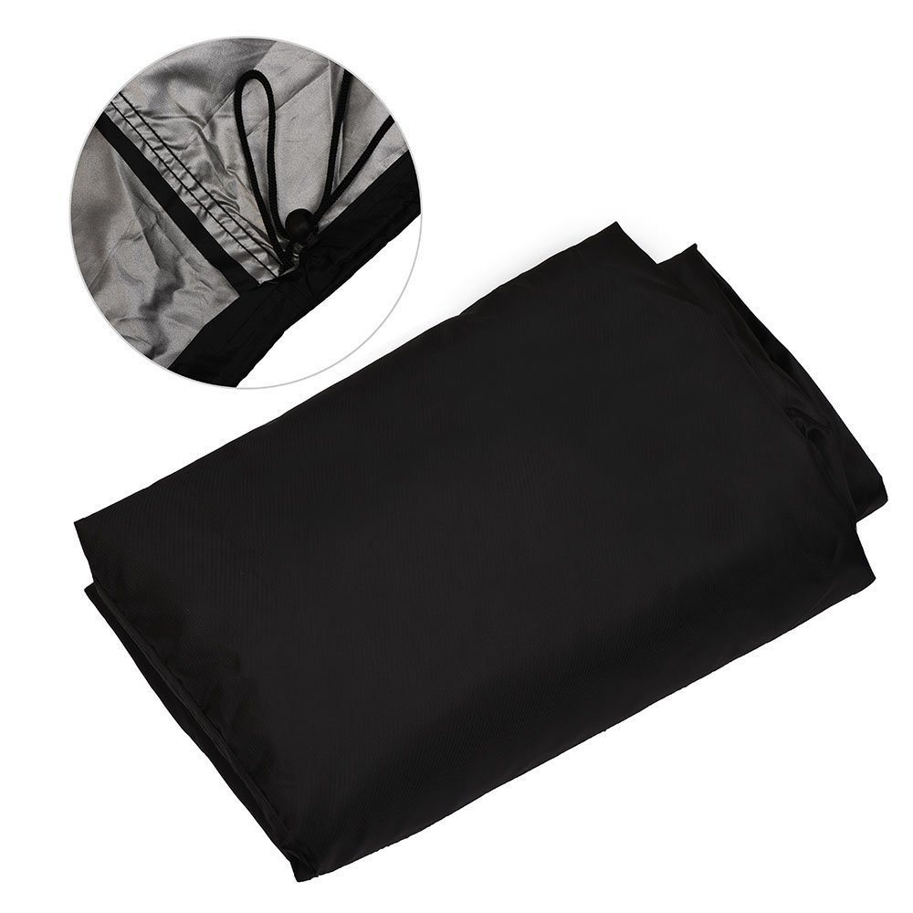 Big Fitted BBQ Cover Outdoor Waterproof Barbecue Grill Cover Garden Patio Grill Protector Extra Large Design 190cm Width 117cm Depth 71cm Height Yesmin