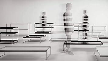 Kartell Trays Repisas, Acero, Blanco, 80x25.3x8 cm: Amazon.es: Hogar