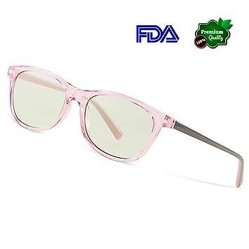 Avoalre® Gafas Gaming Anti Luz Azul - Filtro Luz Azul > 95% - Evita