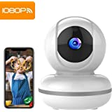 Cámara de Vigilancia WiFi Mibao 1080P Cámara IP Inalámbrica, HD Visión Nocturna, Detección de Movimiento Remoto, Alarma de Correo Electrónico, Audio Bidireccional, Monitor para Bebé/Mascota