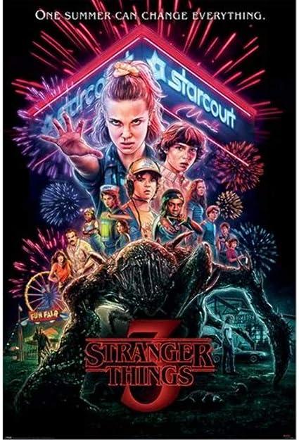 Stranger Things Maxi Poster 61 x 91,5 cm Summer of 85