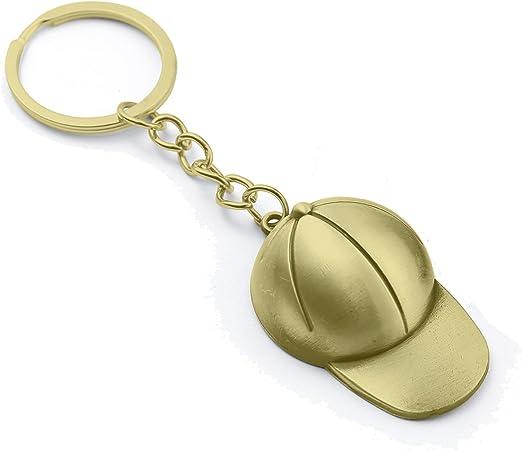 Gorra de béisbol Llavero (Baseball Cap Keyring) dorado (Gold ...