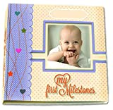 Premium Baby Memory Book By BabyCute - Just Add Summer - Personalized Album For Keepsakes & Photos - The Perfect Scrapbook To Record Your Toddler's First Five Years Of Milestones & Memories!