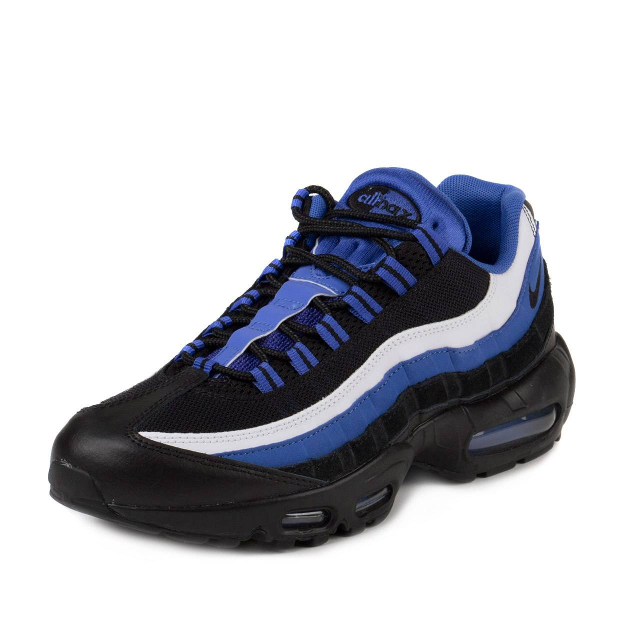 new style 5406c 7e594 Galleon - Nike Mens Air Max 95 Essential Persian Violet Black-White  Synthetic Size 9.5