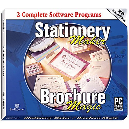 COSMI Stationery Maker and Brochure Magic (Windows) CDRS475