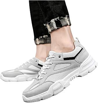 Zapatillas Hombres Deporte Running Sneakers Zapatos para Correr Gimnasio Deportivas Padel Transpirables Casual Botas de Senderismo para Hombre: Amazon.es: Oficina y papelería