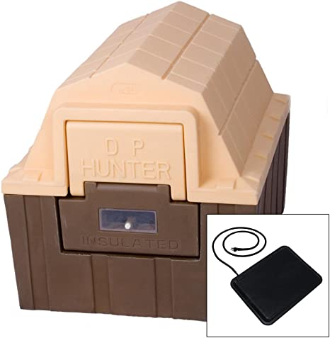 Amazon Com Asl Solutions Dp Hunter Dog House With Floor Heater