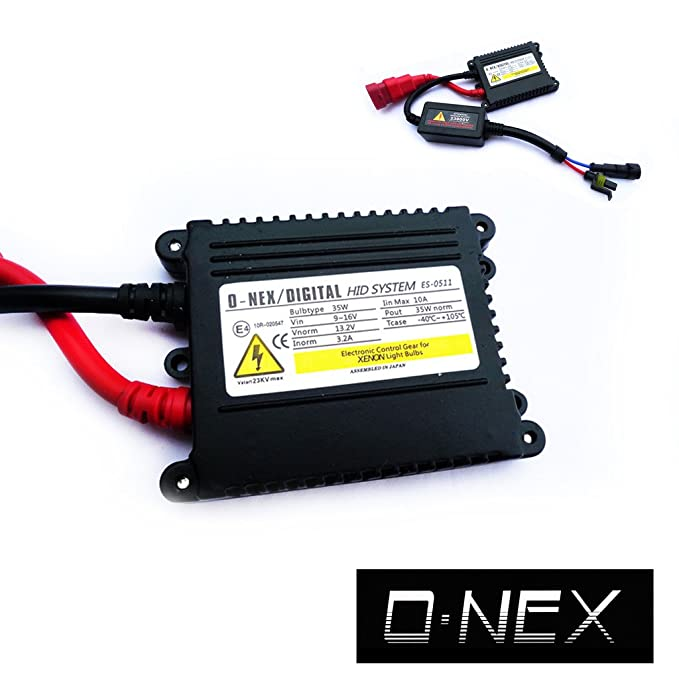Amazon.com: HID Replacement Slim Digital Xenon Ballast for 9003 9004 9005 9006 9007 9008 9145 5202 880 881: Automotive